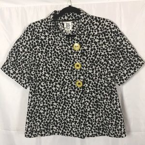 Ivy Jane Size Small dotted jacket